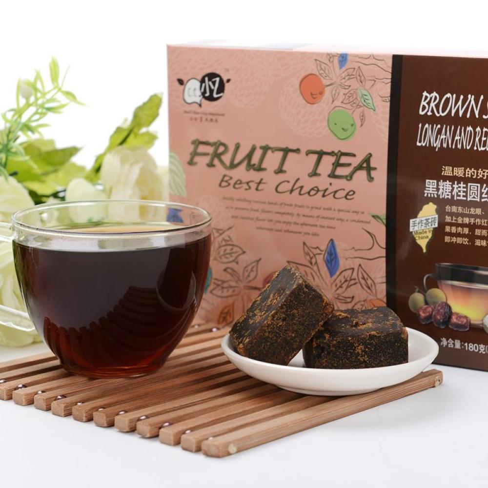 小乙黑糖桂圆红枣茶180g