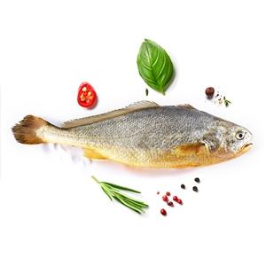三都港 速冻黄花鱼700g  2条/袋 肥美鲜嫩 清蒸红烧皆可
