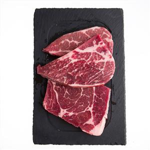 澳洲安格斯雪花牛排1000g(5片装) 品质保证 肉嫩味香